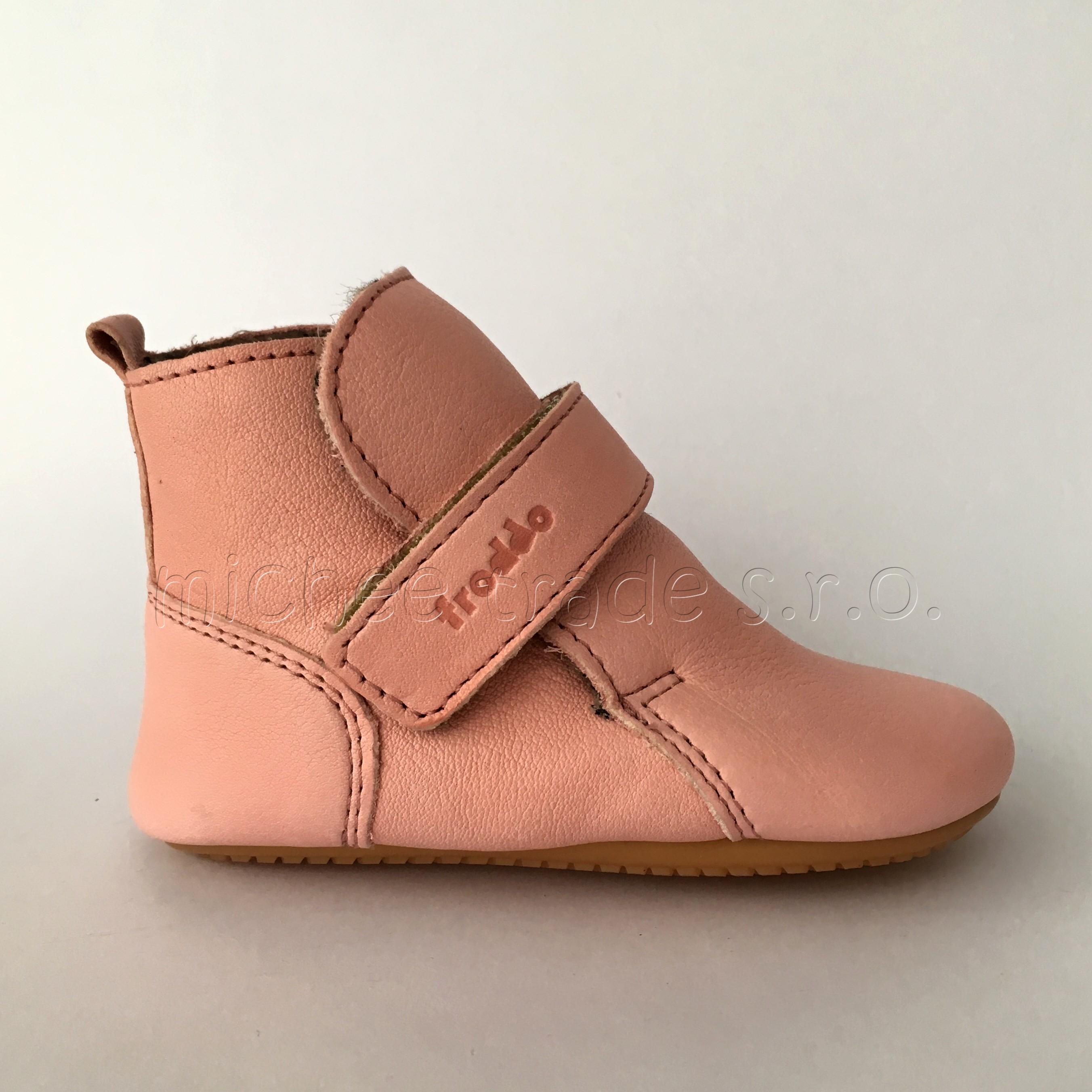 41684708f4 Froddo Prewalkers Wool Pink