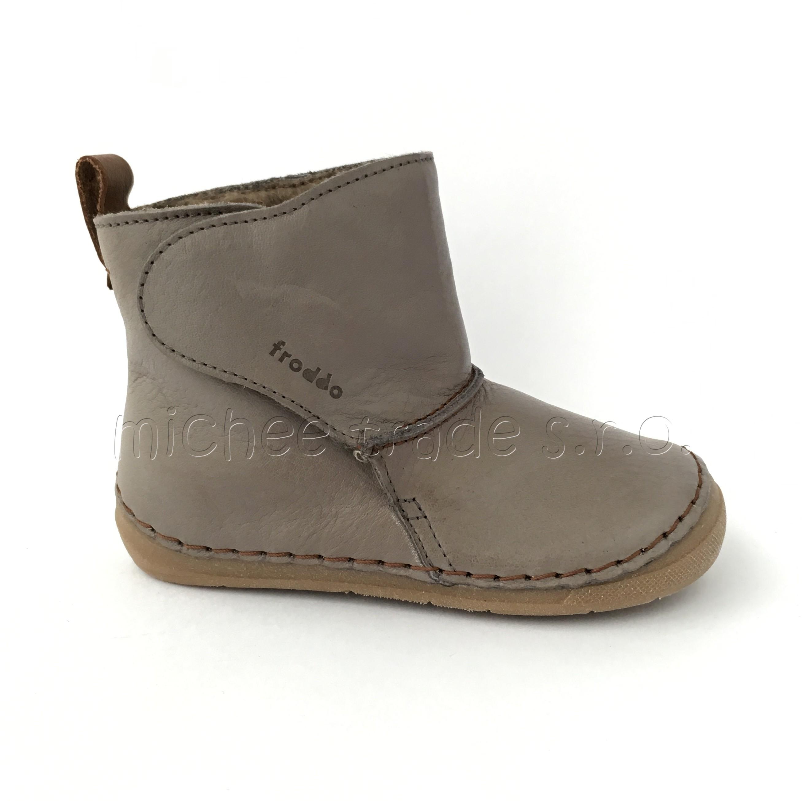 12c6dc55f4 Froddo Flexible Grey Wool Válenky
