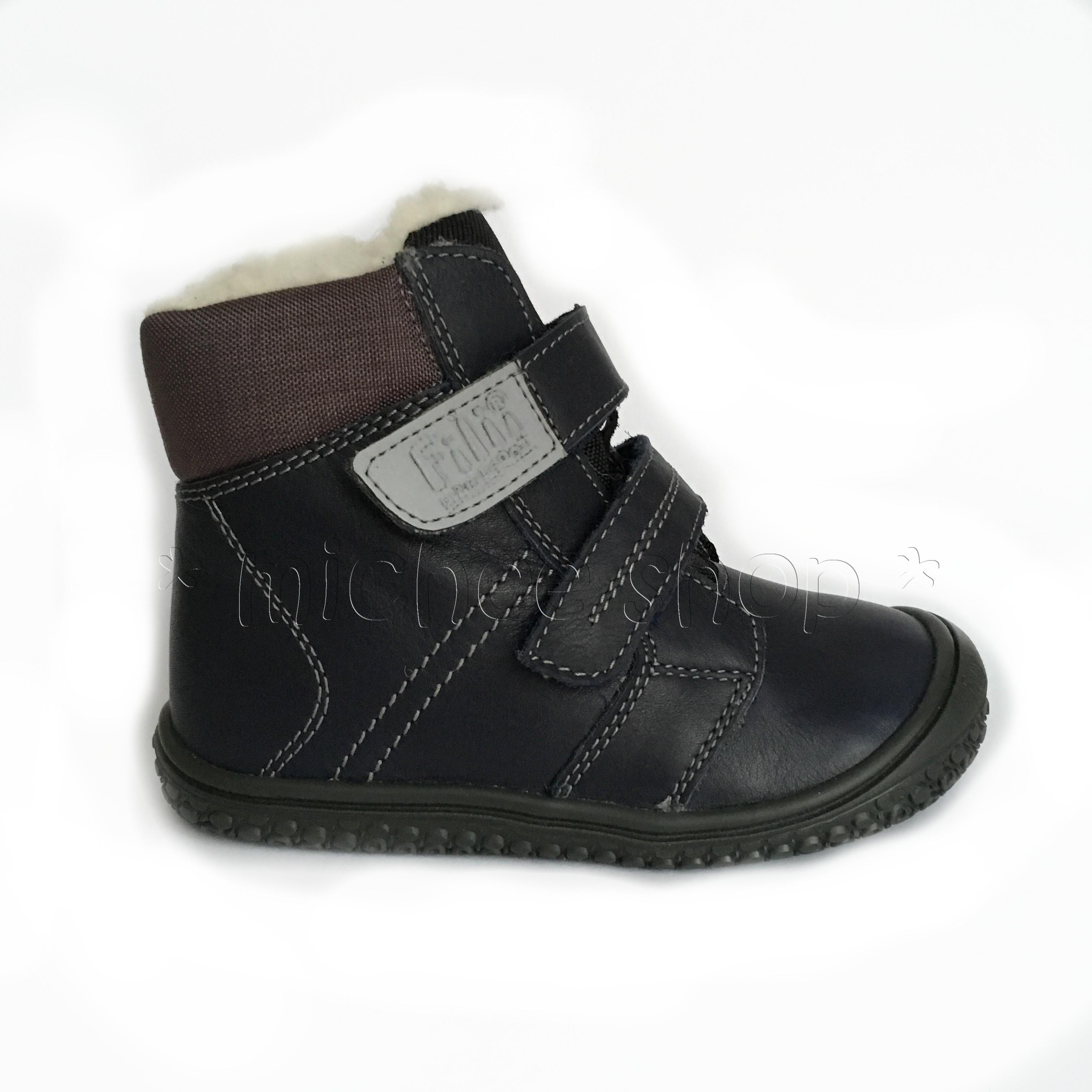 3840c0531b9 Zimní obuv | Zimní Filii Barefoot Himalaya Nappa Tex Wool Ocean 25 ...
