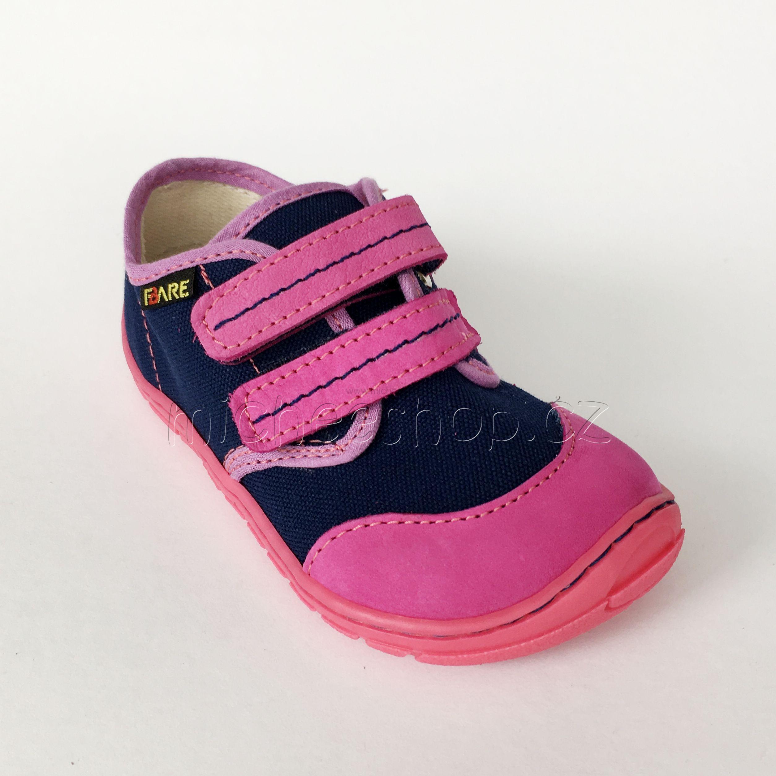 ee761b519a Fare Bare dětské tenisky modrá růžová