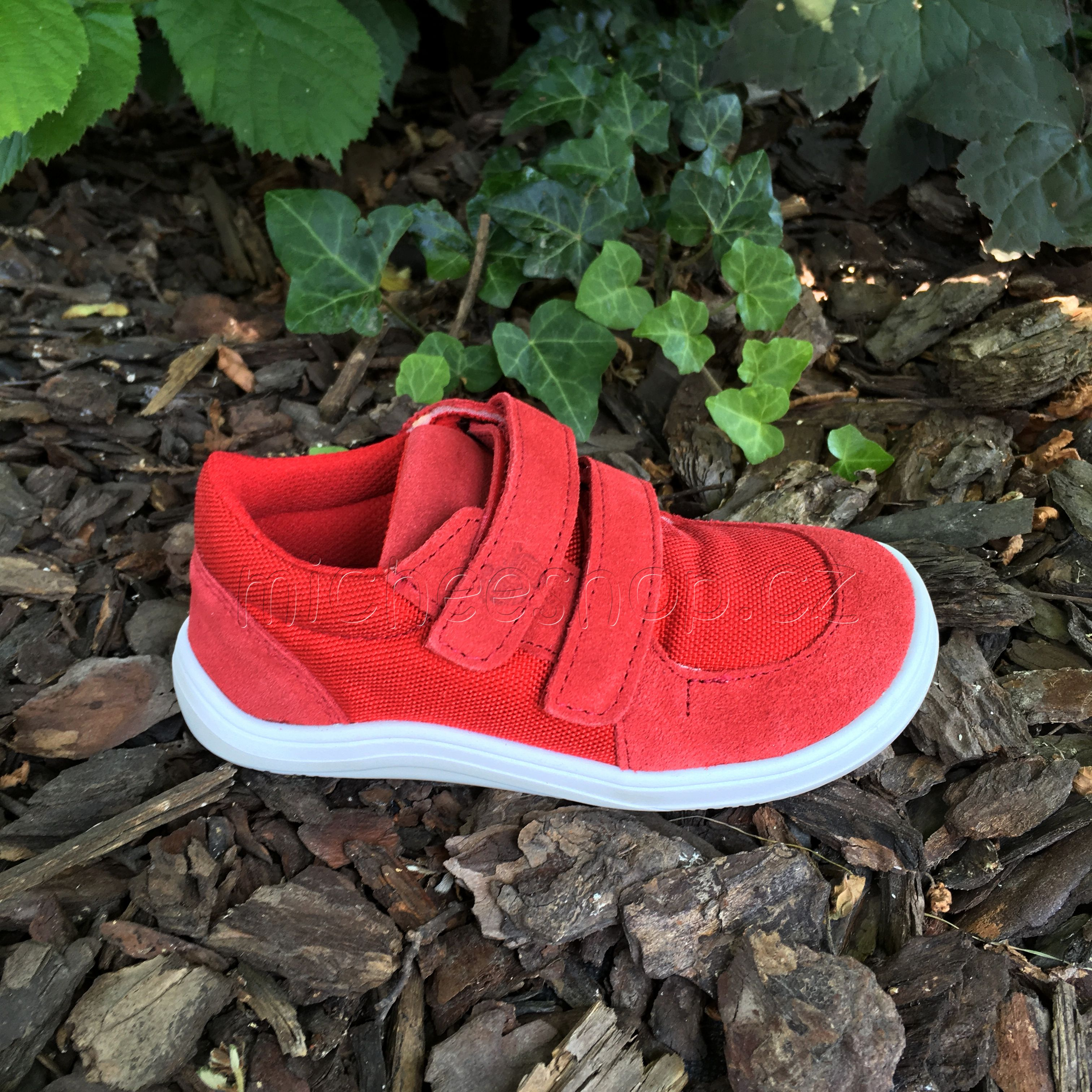 Baby Bare Shoes - Febo Sneakers Red