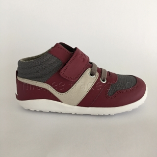 Bobux Street Bass Burgundy/Blush