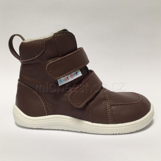 Baby Bare Shoes - Febo Winter Bordo