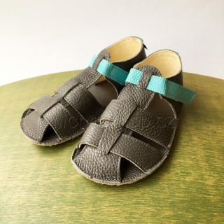 Baby Bare Shoes IO Blue Beetle - Sandals New