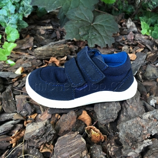 Baby Bare Shoes - Febo Sneakers Blue