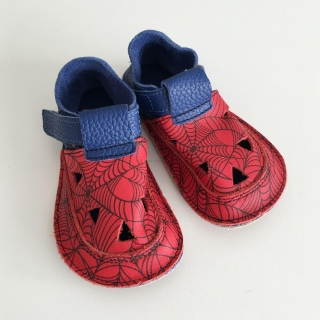 Baby Bare Shoes IO Spider - TOP STITCH Sandals